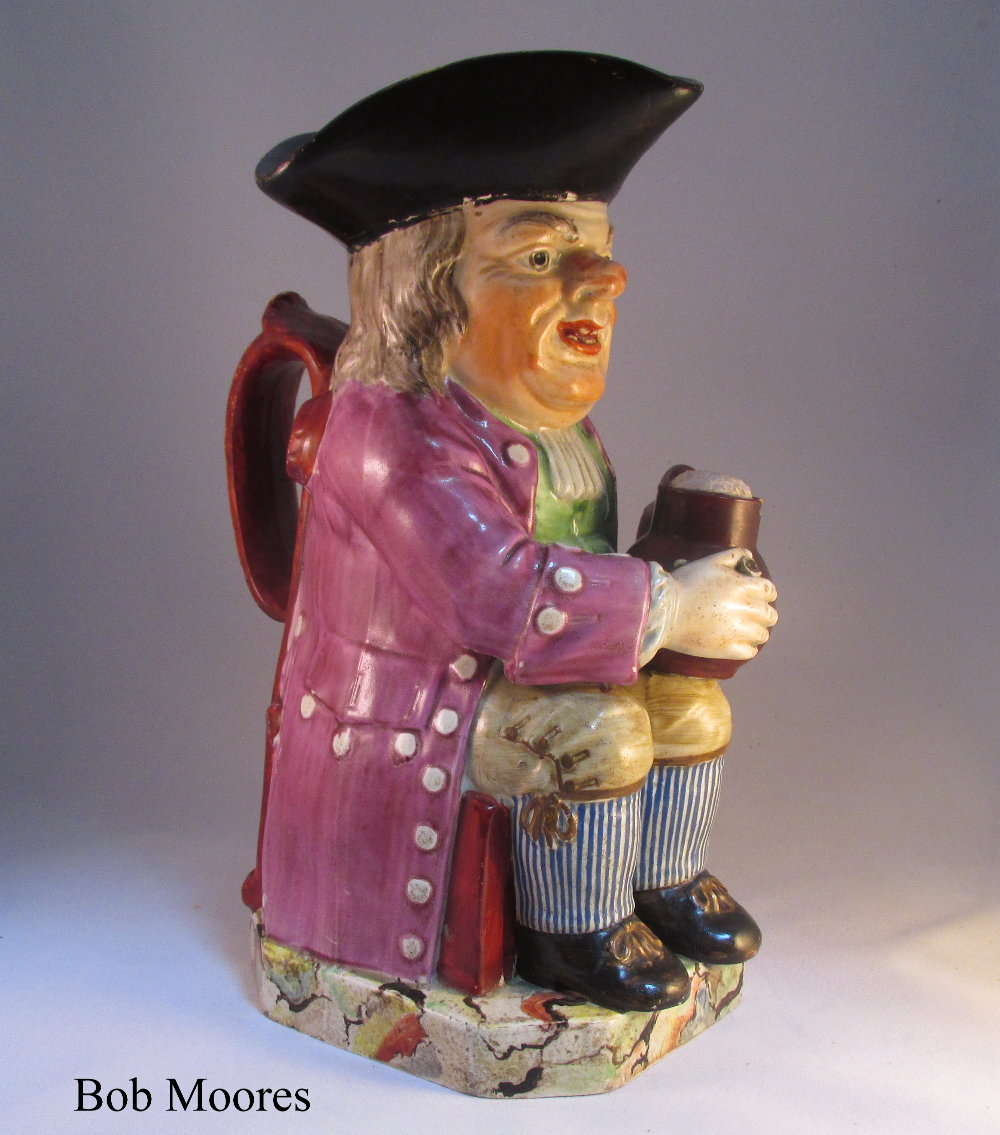 Good Enoch Wood Toby jug Staffordshire c1800