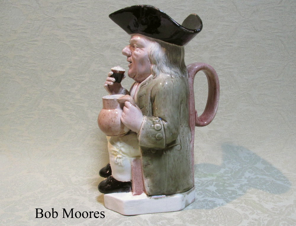 Good Ralph Wood 51 mould Toby jug c.1780 - Lot 69 from the Marquess of Bute collection
