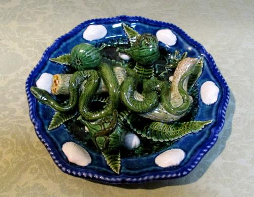 David Henderson snake and fig plate