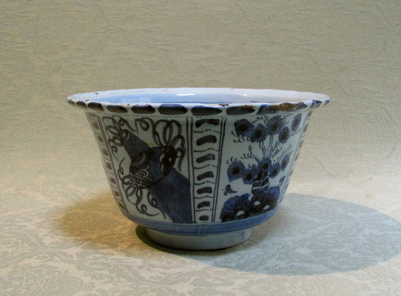 Large delft cache pot c. 1750