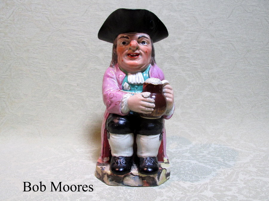 Good Enoch Wood Toby jug STaffordshire c.1800