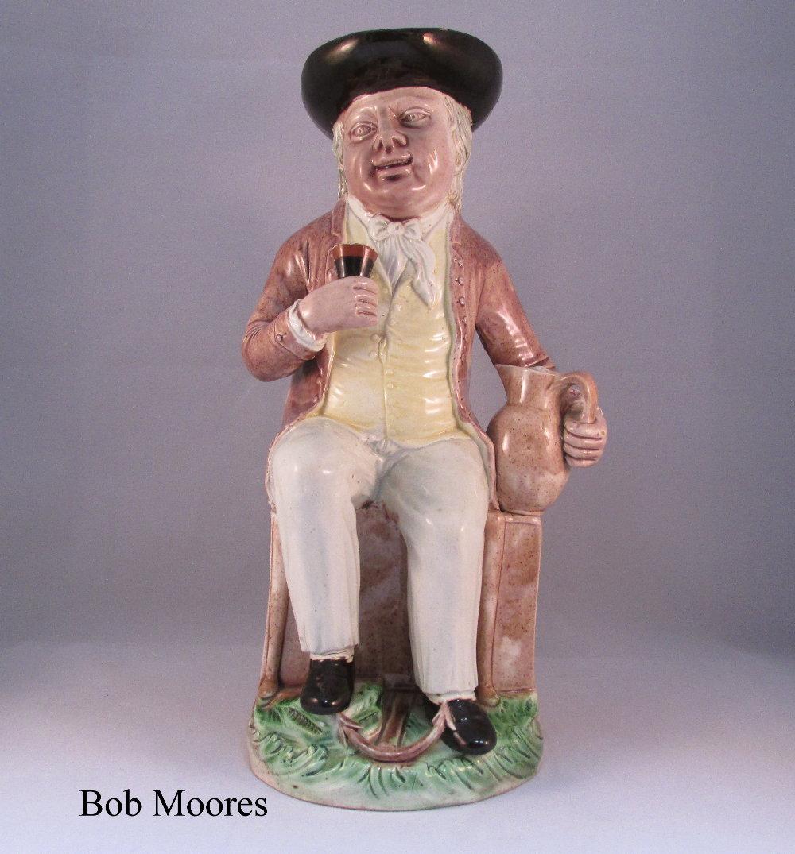 Fine Ralph Wood Sailor Toby Jug C 1780 Toby Jugs