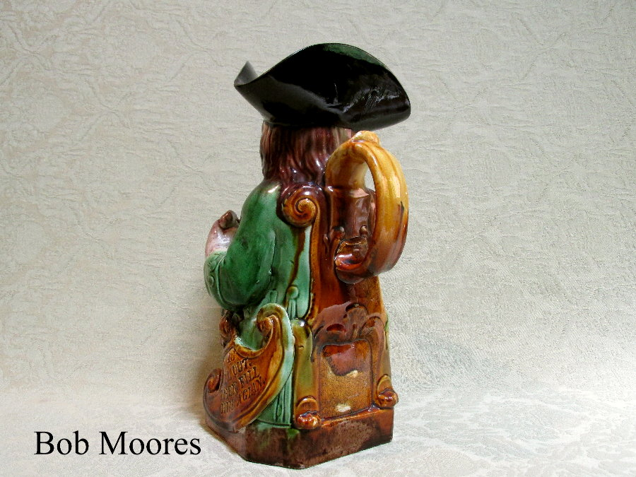 Extremely Rare Ralph Wood Shield Toby Jug Staffordshire C