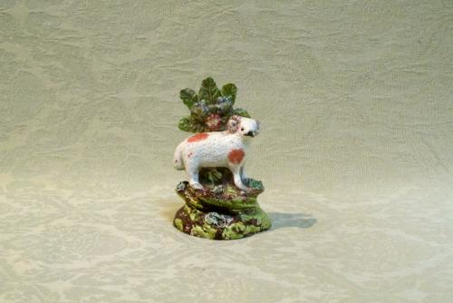 Small Staffordshire pearlware ram group c.1800
