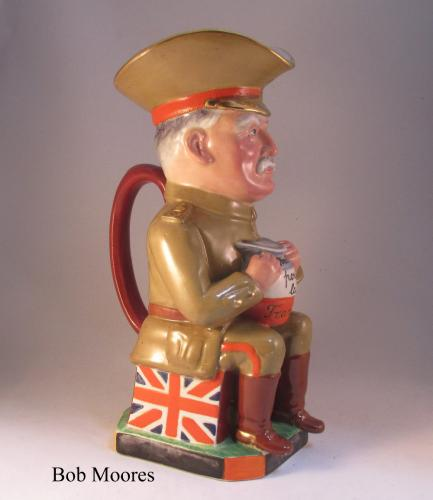 General John French Toby jug Staffordshire c.1917