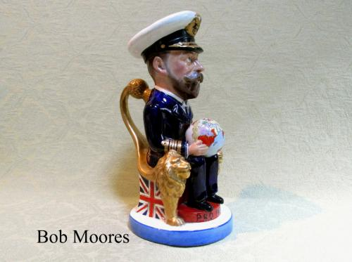 King George V Toby jug  Wilkinson, Carruthers Gould, Staffordshire c.1917
