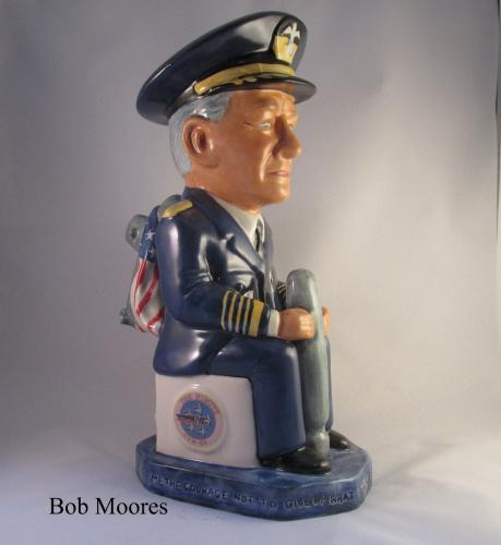 Admiral Chester W. Nimitz Toby jug - 20 of 100