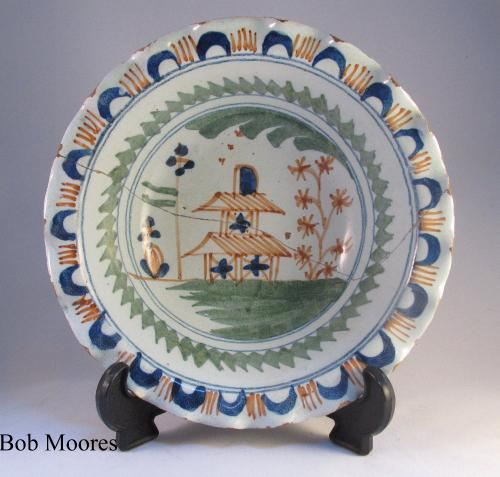Bristol delft powder bowl c.1720-30