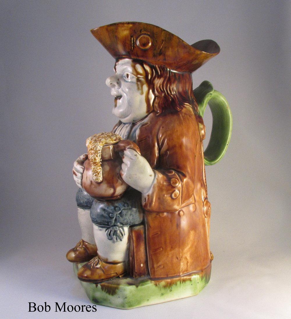 Ralph Wood Short Hat Toby Jug C1780 Archive