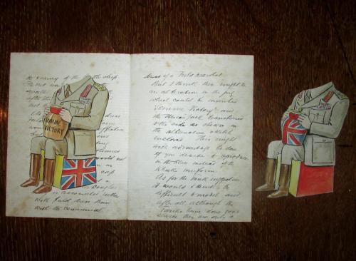 Original letter from Carruthers Gould to Wilkinsons dated 14th April 1917