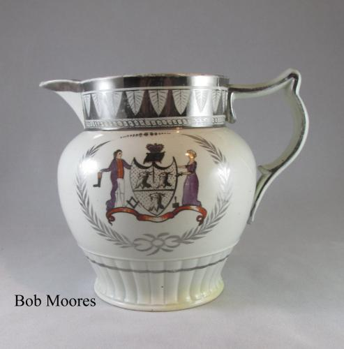 Shoemaking interest - Cordwainers jug for John Brown 1808