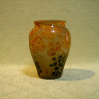 A genuine Daum vase Nancy c.1910 in excellent original condition.