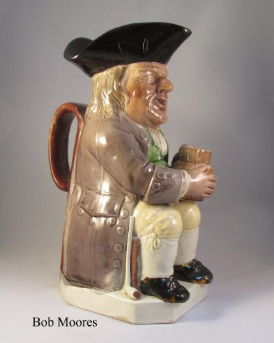 Good Ralph Wood Toby jug c1780
