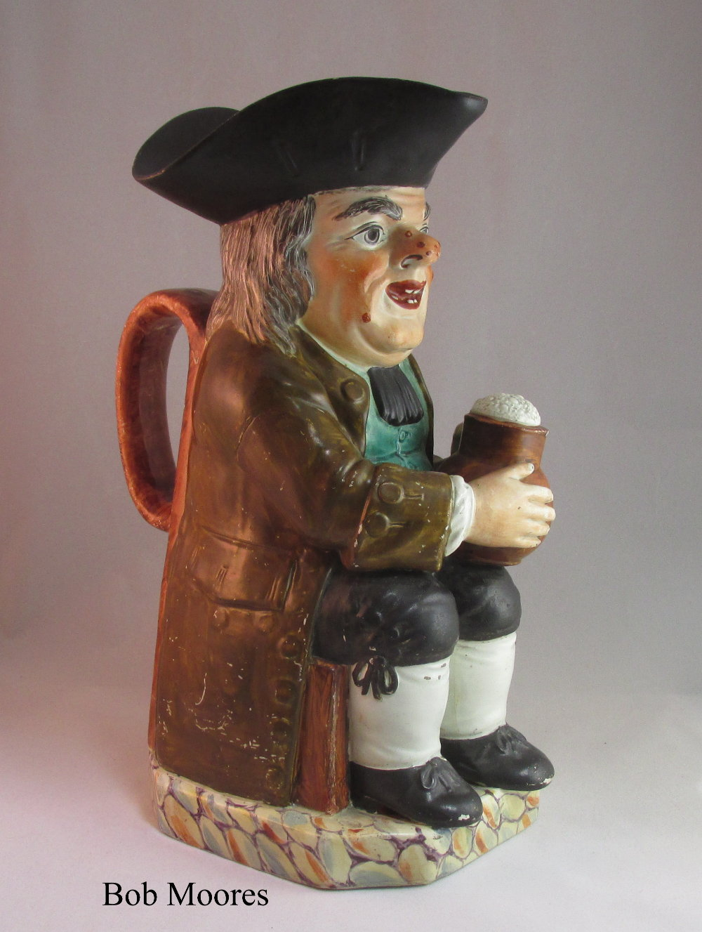 Neale & Co Toby jug Staffordshire c1800