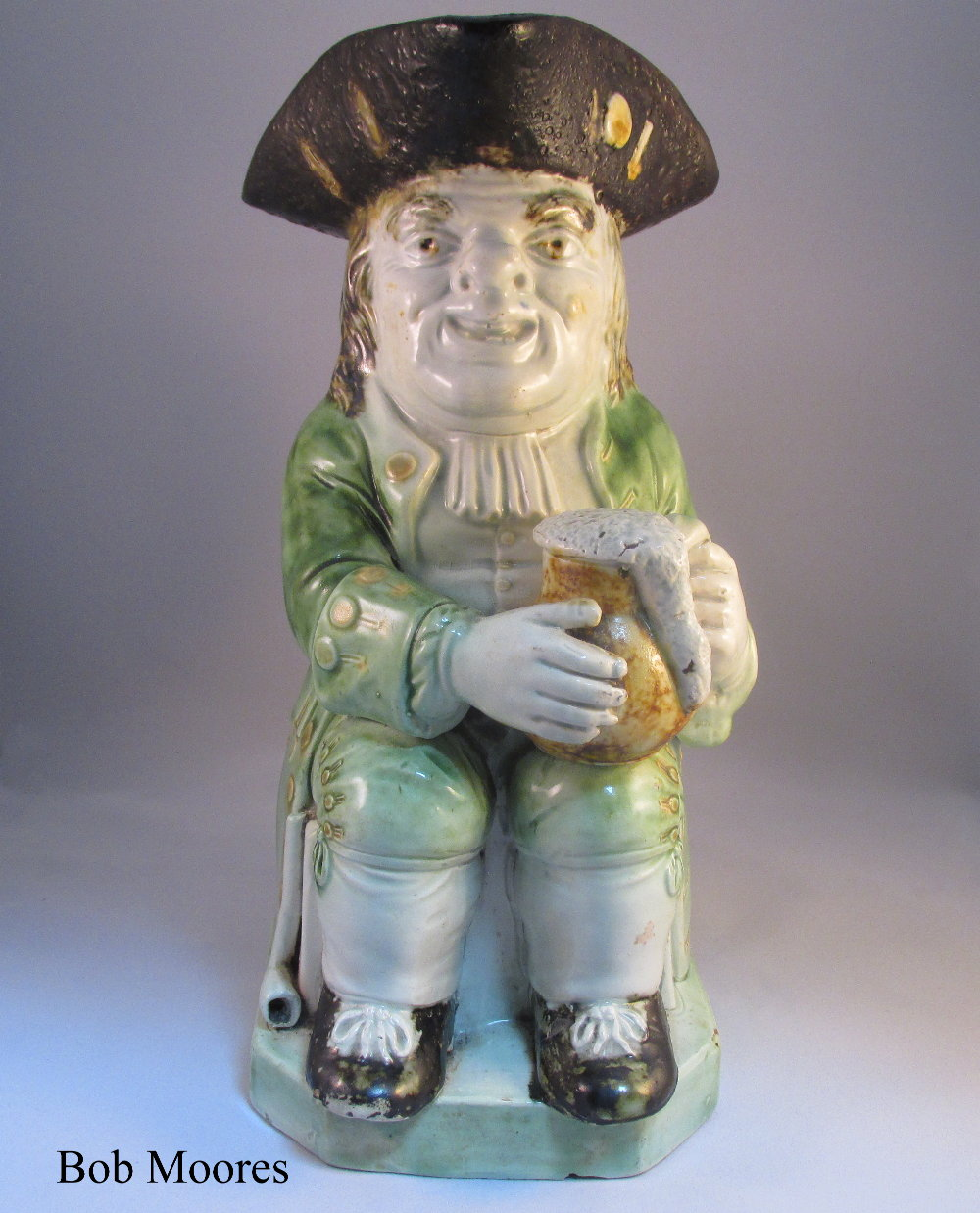 Fine and early Ralph Wood Toby jug c.1780