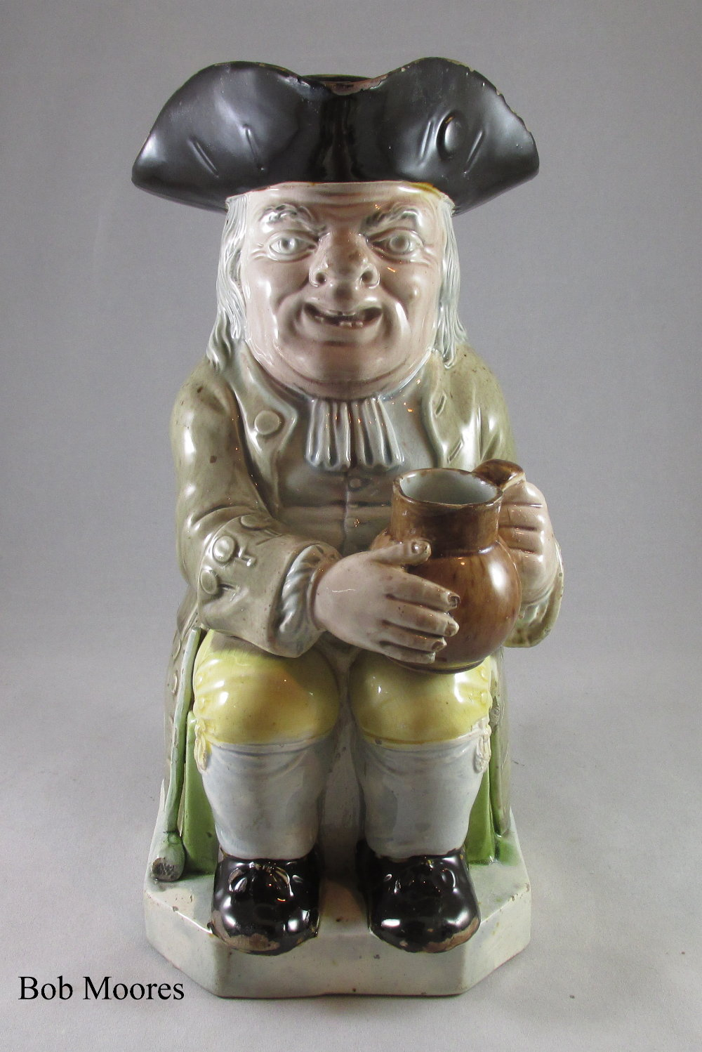 Good Ralph Wood Toby jug c.1780