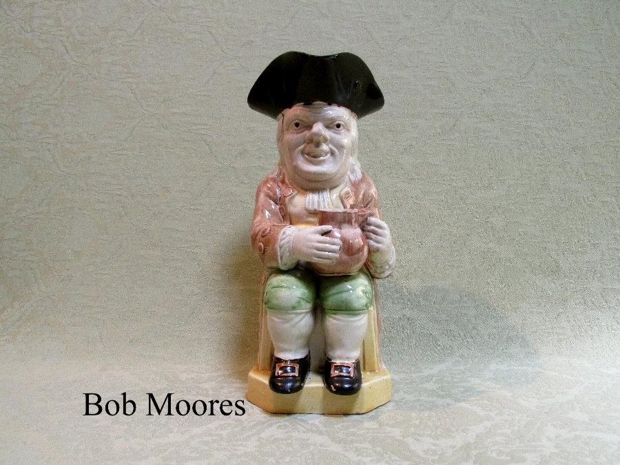 Good Ralph Wood Long Face Toby Jug Staffordshire C 1780