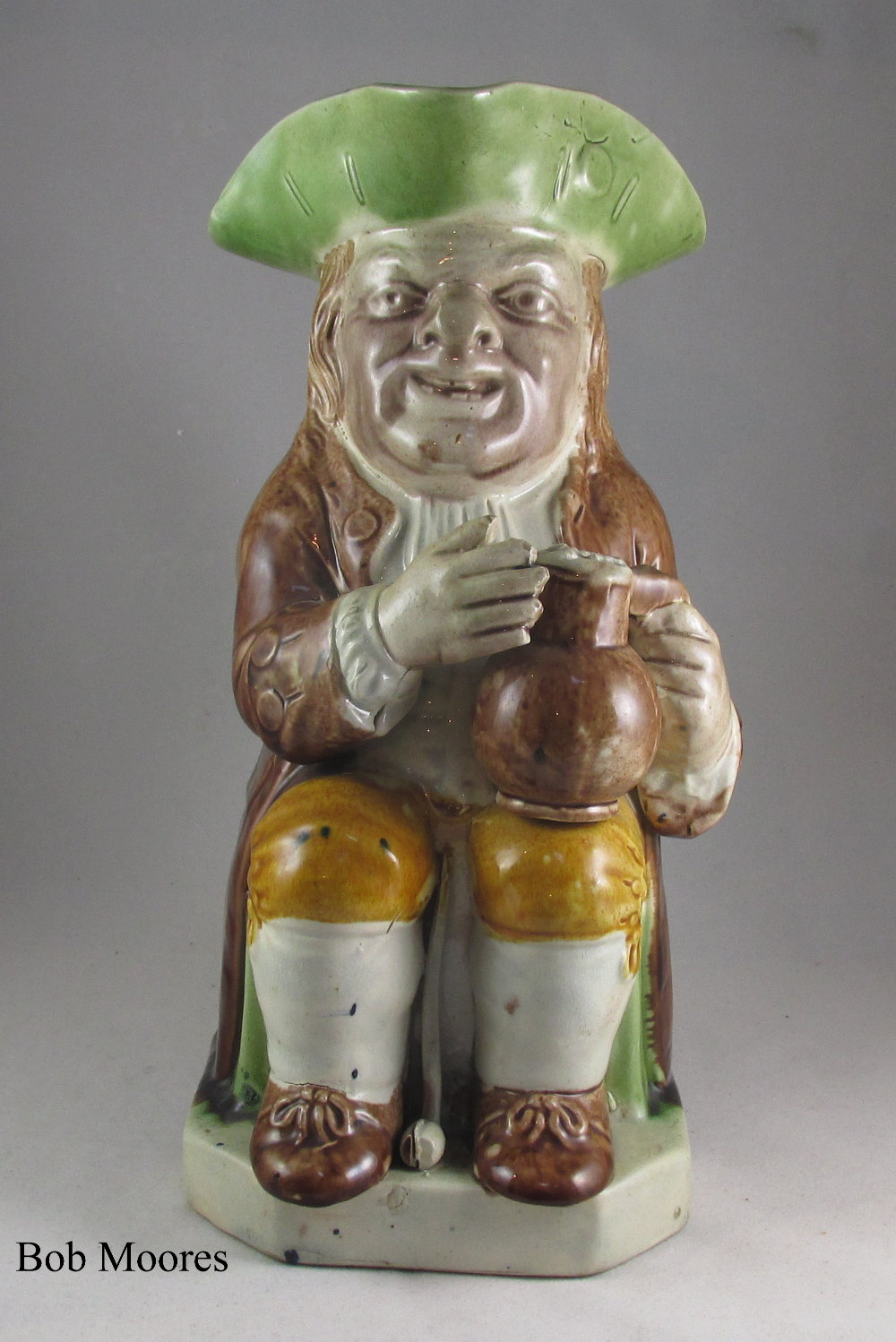 Fine Ralph Wood Toby jug c.1780 - ex Mackintosh collection.