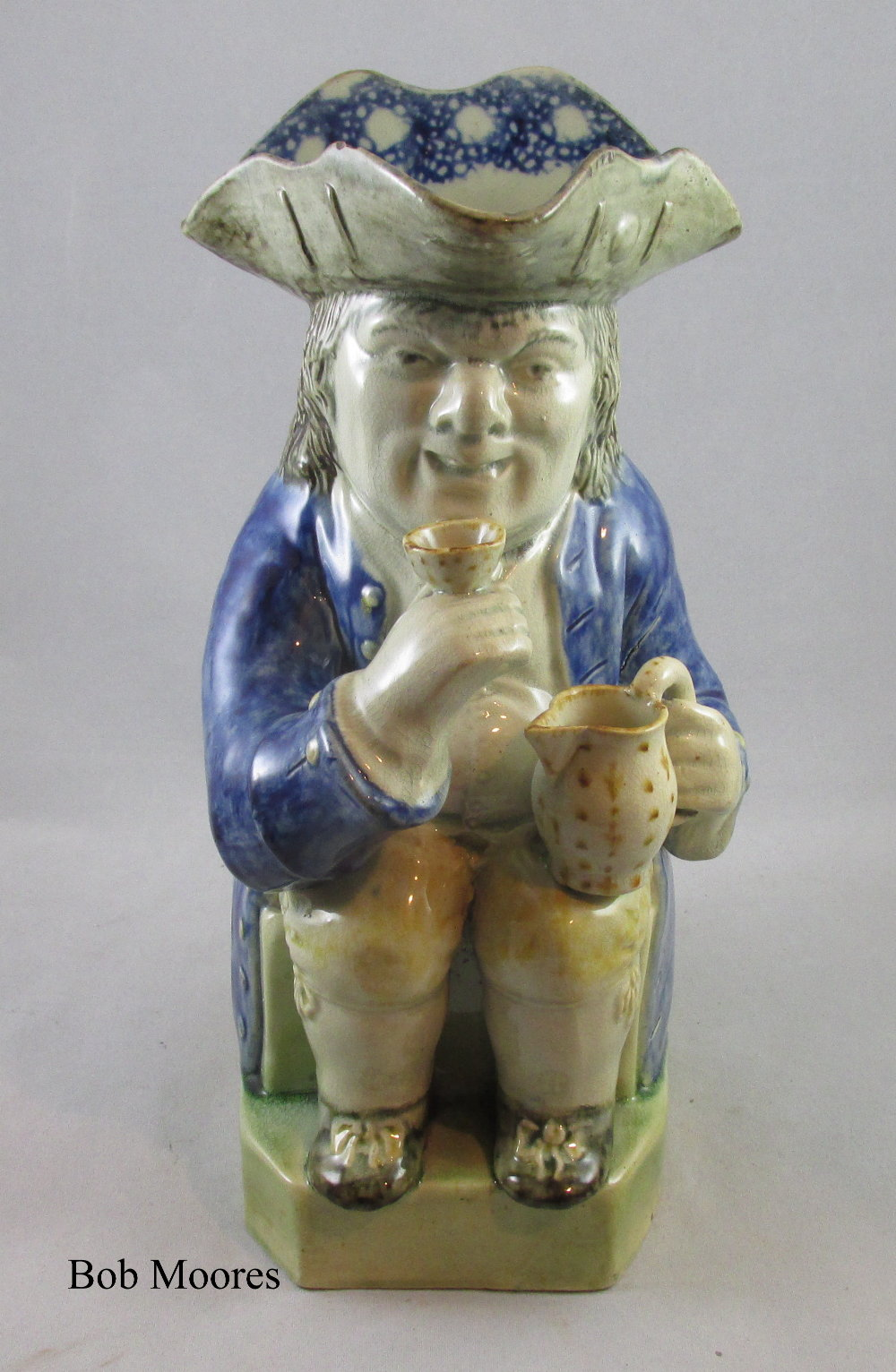 Fine early Mexborough Toby jug Yorkshire c1780