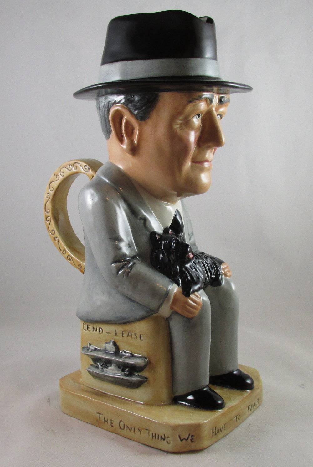 "The ""Wilkinson"" Franklin D Roosevelt Toby jug"