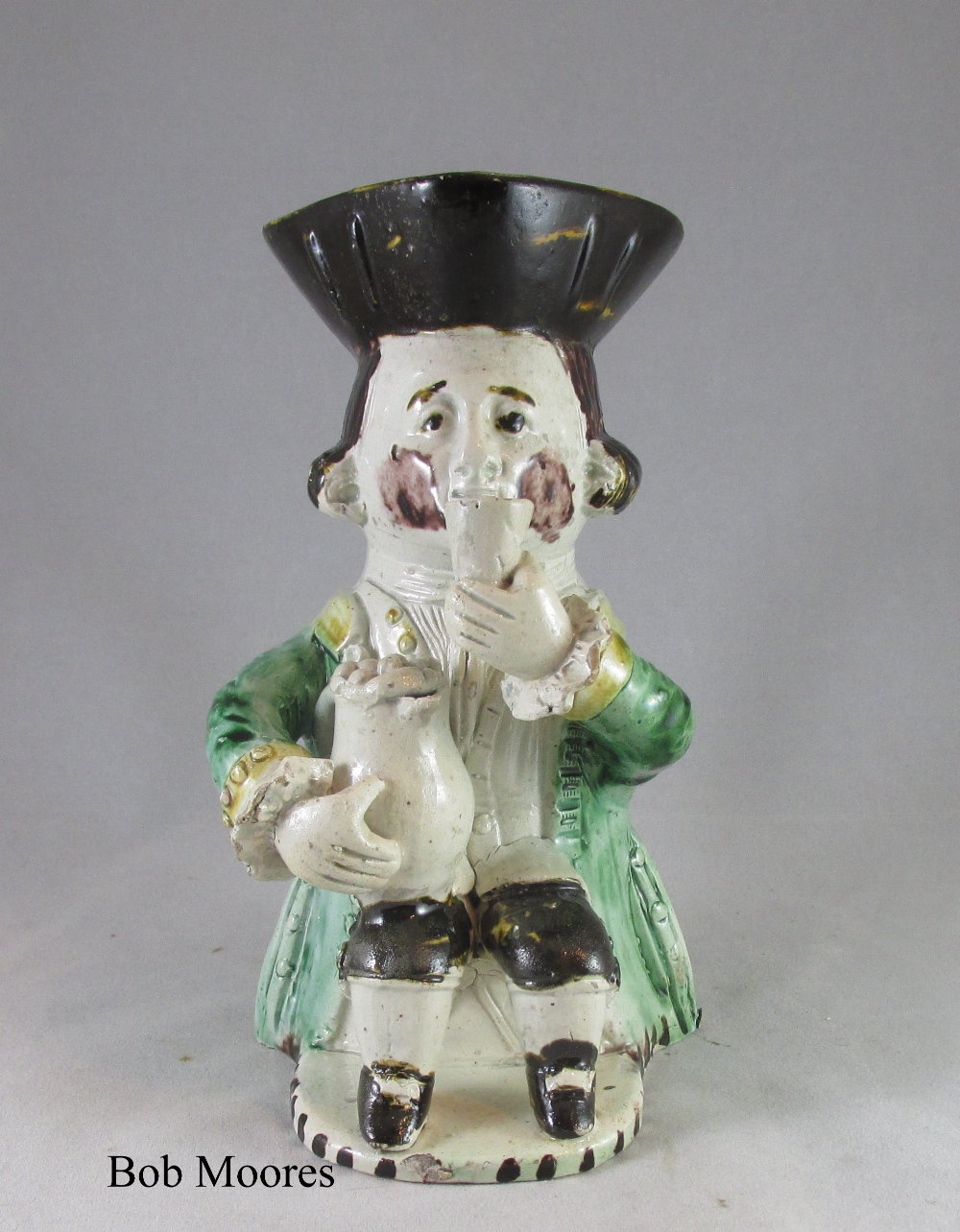 Midshipmite Toby jug c.1770  -  BUTE collection